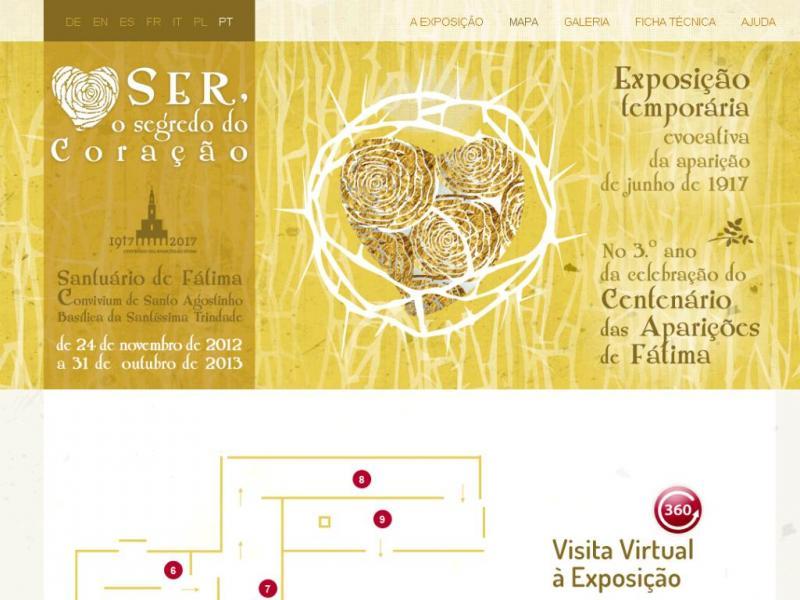 Santuário de Fátima lança visita virtual a exposição