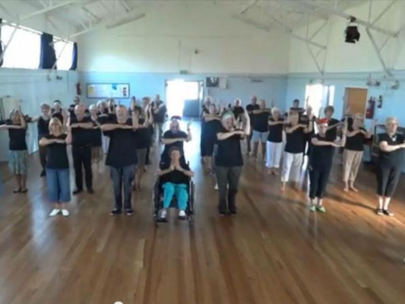Estes idosos dançam hip-hop