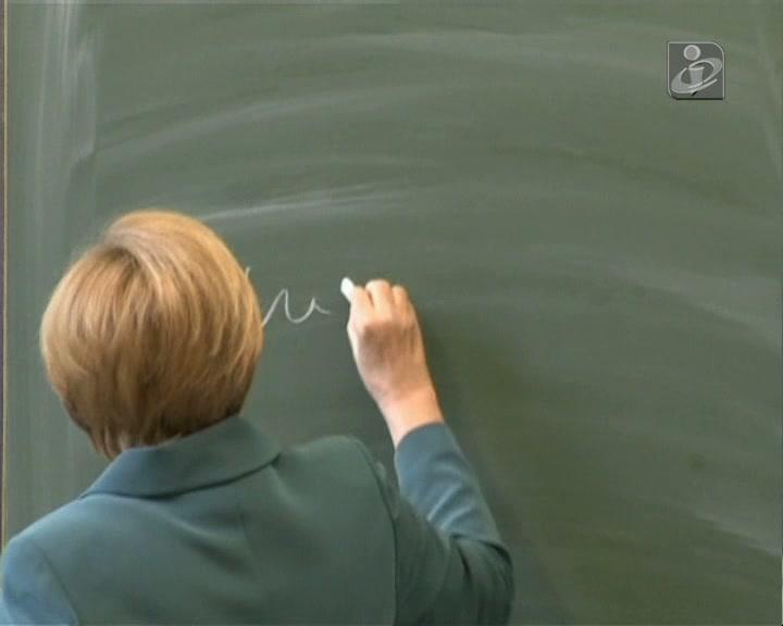 Merkel deu uma aula sobre o muro de Berlim