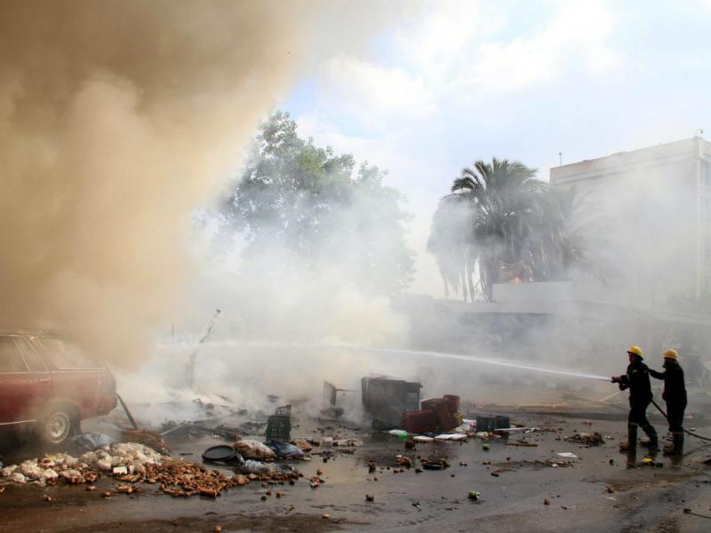 Caos e violência nas ruas do Cairo (Reuters)