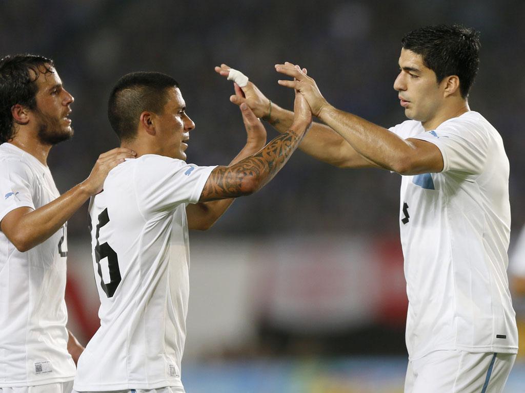 Japão vs Uruguai (EPA/Kimimasa Mayama)
