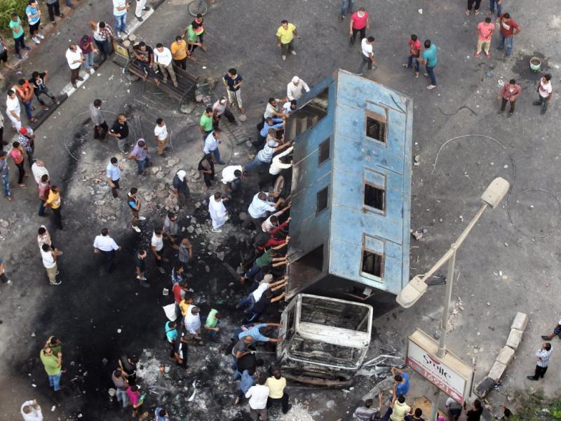 Estado de emergência no Egito [EPA]