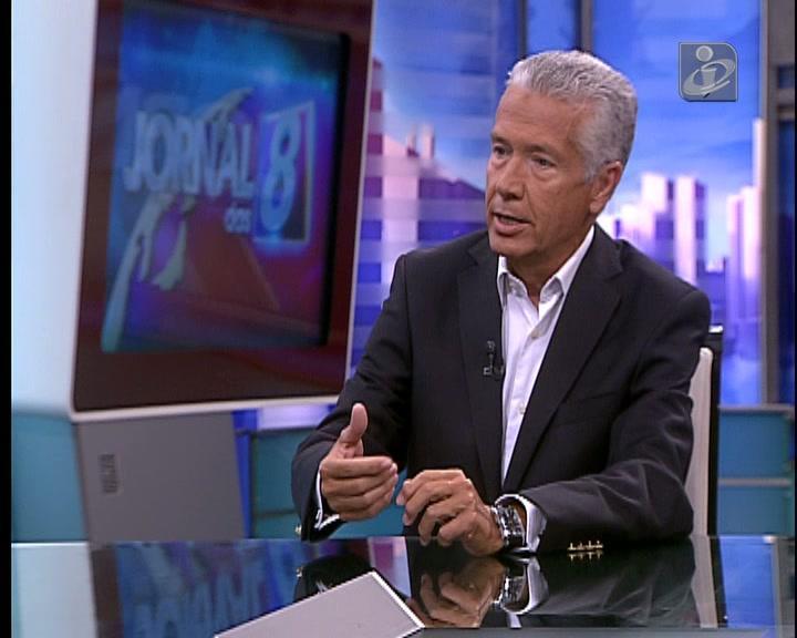 Entrevista a António Saraiva na TVI