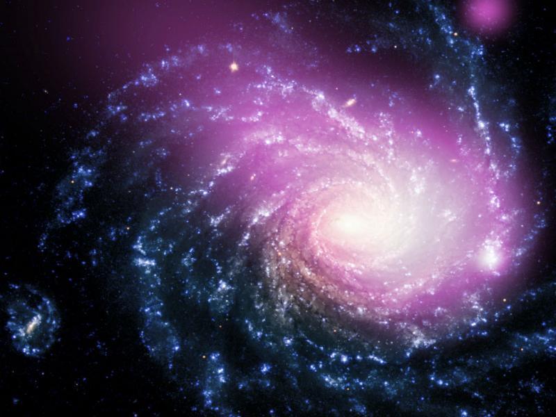 Colisão de galáxias [NASA]