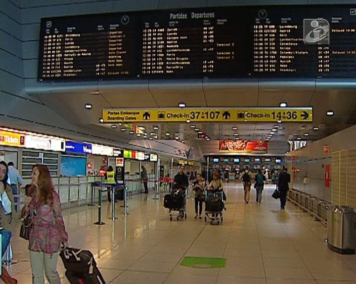 Groundforce: protesto no aeroporto em dia de greve