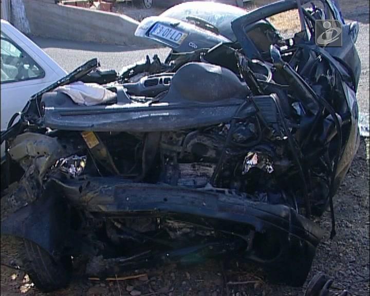 Choque de carros em Ourique faz dois mortos