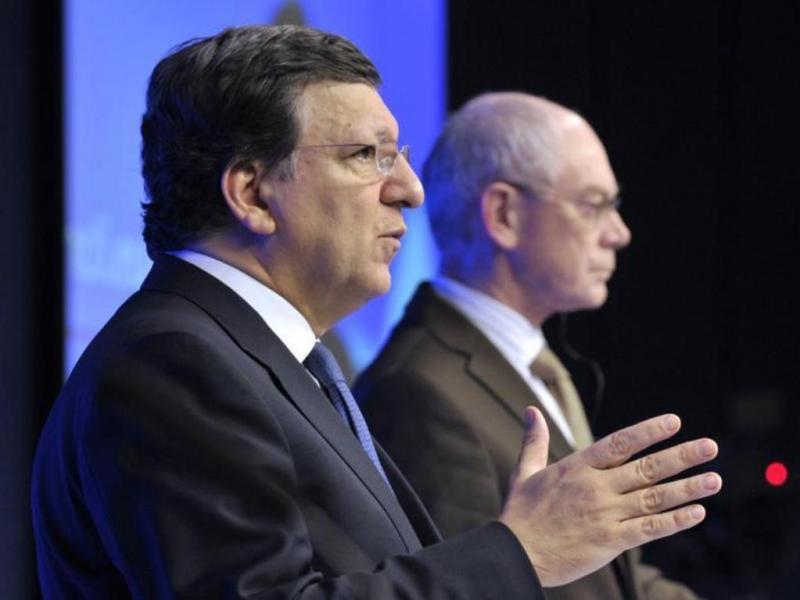 Durão Barroso e Van Rompuy