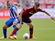 Nuremberga vs Hertha [EPA/David Ebener]
