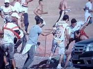 Agressões Flamengo