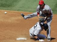 Los Angeles Angels vs New York Yankees (Reuters/Ray Stubblebine)