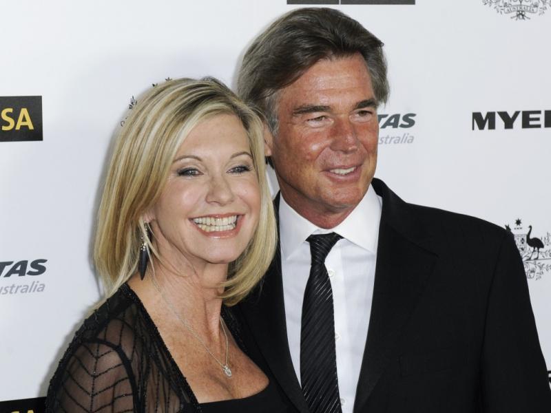 Olivia Newton-John e o marido, John Easterling (Reuters)