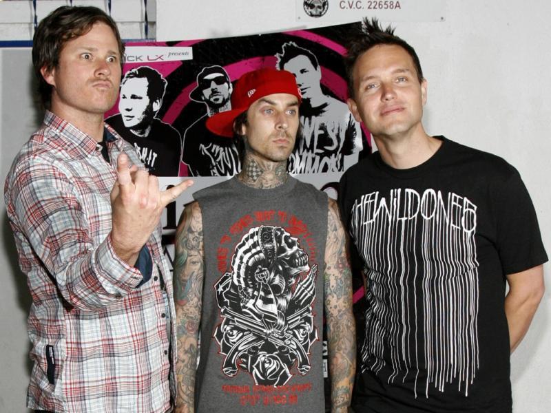 Blink-182 (Reuters)
