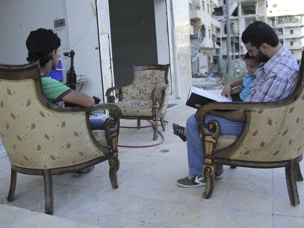 Síria, um país a desaparecer (Reuters)