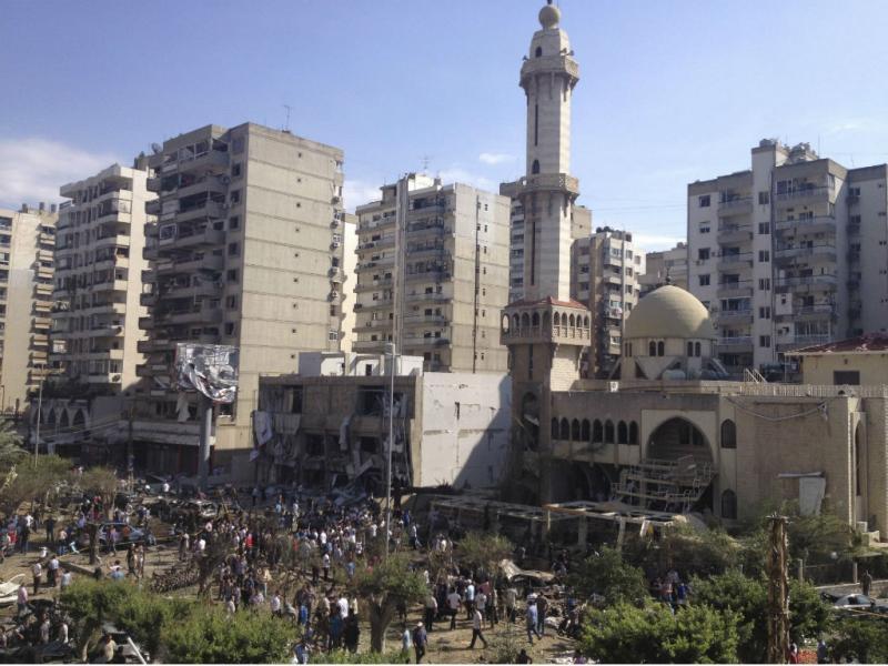 Explosões no Líbano [REUTERS]