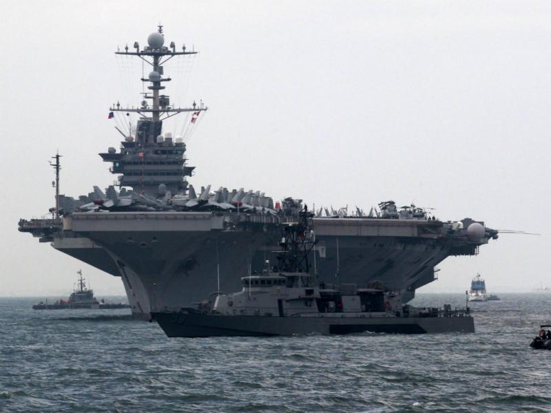 Marinha norte-americana (Lusa/EPA)