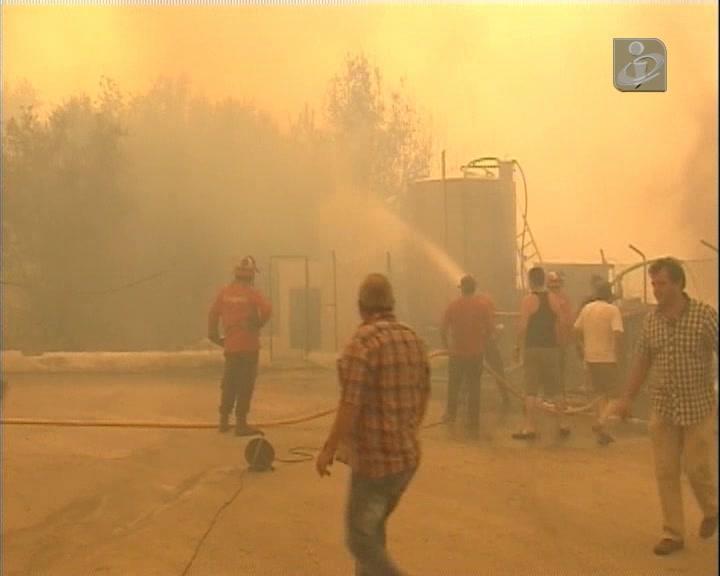 Fogo de Oliveira do Hospital ameaçou povoações