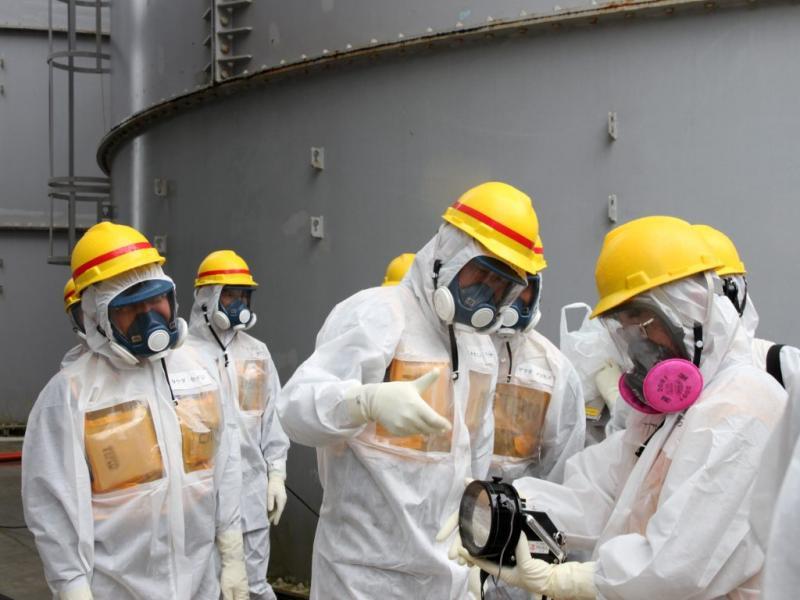 Fukushima: novo tanque para conter a água contaminada (Lusa)