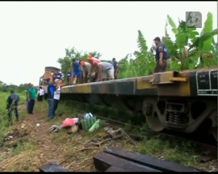 México: 6 pessoas morrem em descarrilamento