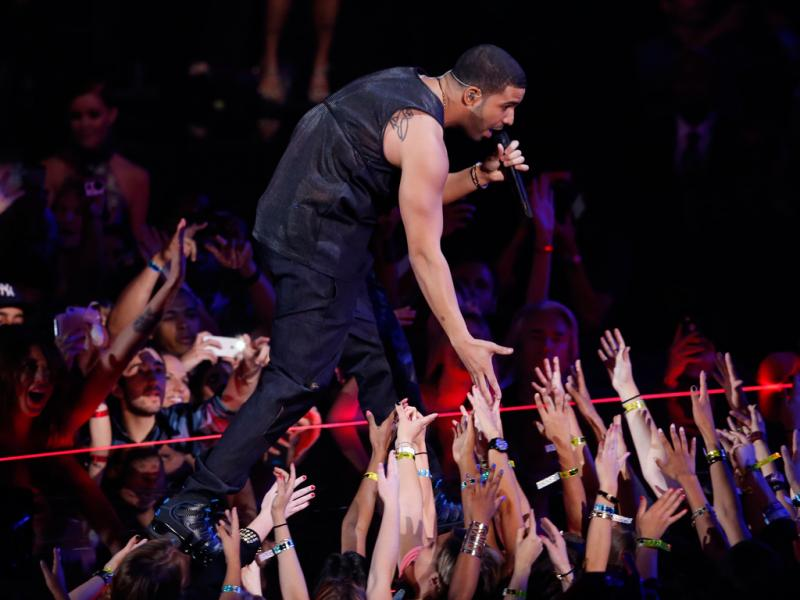 Drake nos MTV Video Music Awards 2013 (Reuters)