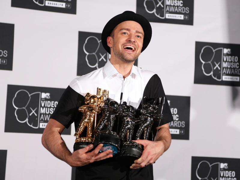 Justin Timberlake nos MTV Video Music Awards 2013 (Reuters)