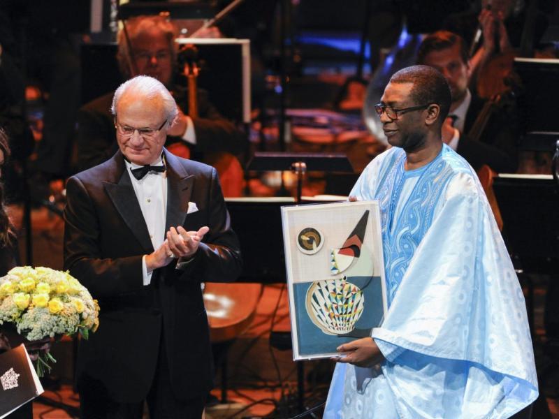 Youssou N`Dour recebe o Polar Music Prize (Reuters)