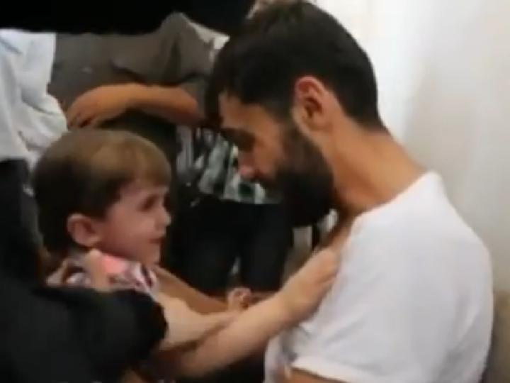 Síria: o reencontro de um pai com o filho que julgava morto