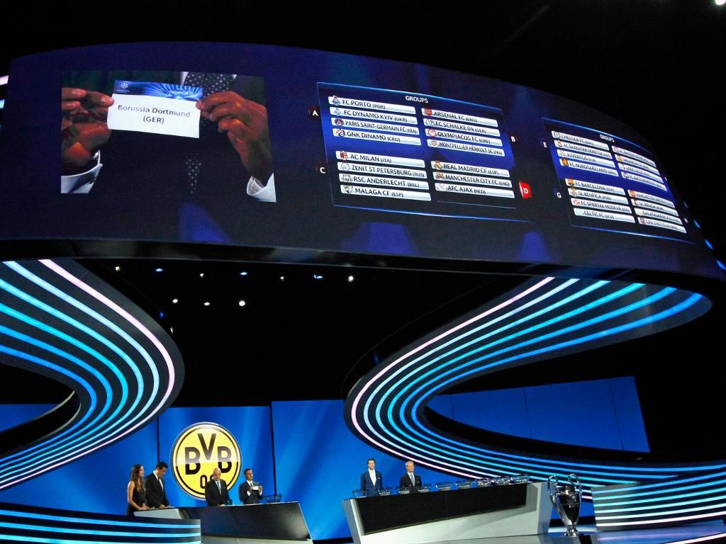 Sorteio Liga dos Campeões [Reuters]
