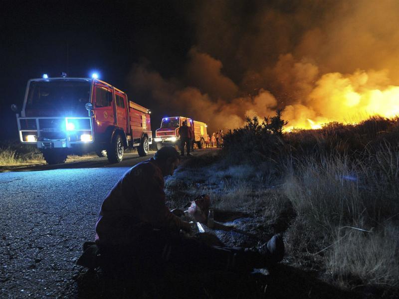 Incêndio no Caramulo (LUSA)