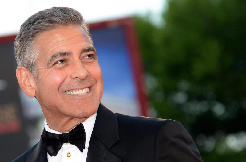 George Clooney no 70º Festival de Cinema de Veneza Foto: Lusa