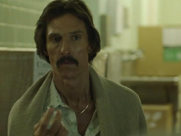 Matthew McConaughey em «Dallas Buyers Club»