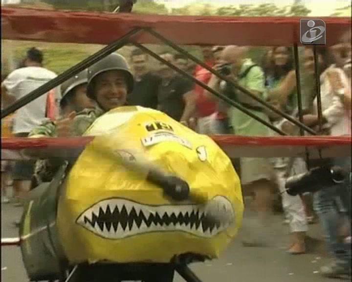 A corrida mais louca é nos Açores