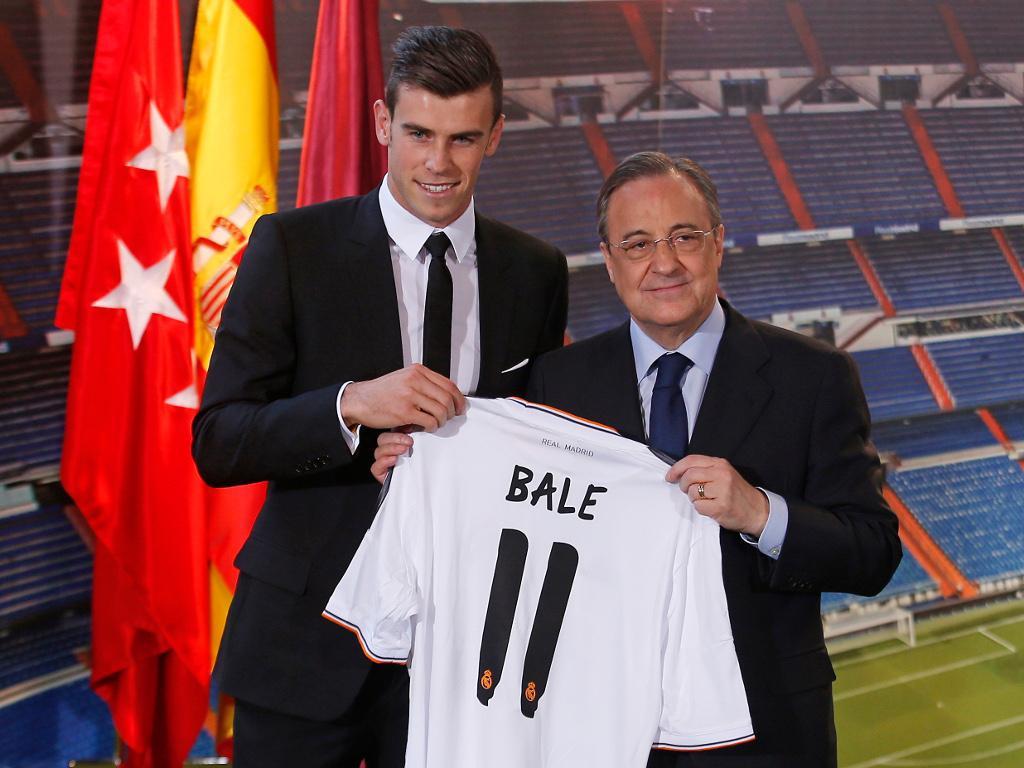 Gareth Bale em Madrid (REUTERS/Sergio Perez)