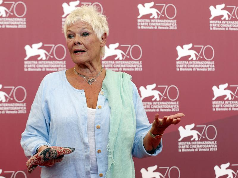 Judi Dench no 70º Festival de Veneza (Reuters)