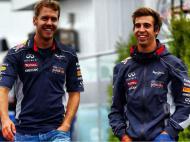 António Félix da Costa e Sebastian Vettel
