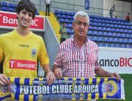 Cristian Ceballos apresentado em Arouca