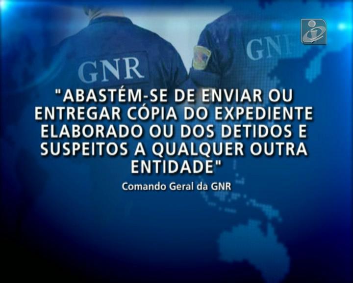 Comando da GNR proíbe guardas de informar PJ