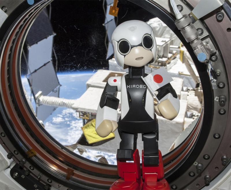 Robô Kirobo enviado à Estação Espacial Internacional (ISS) Foto: Reuters