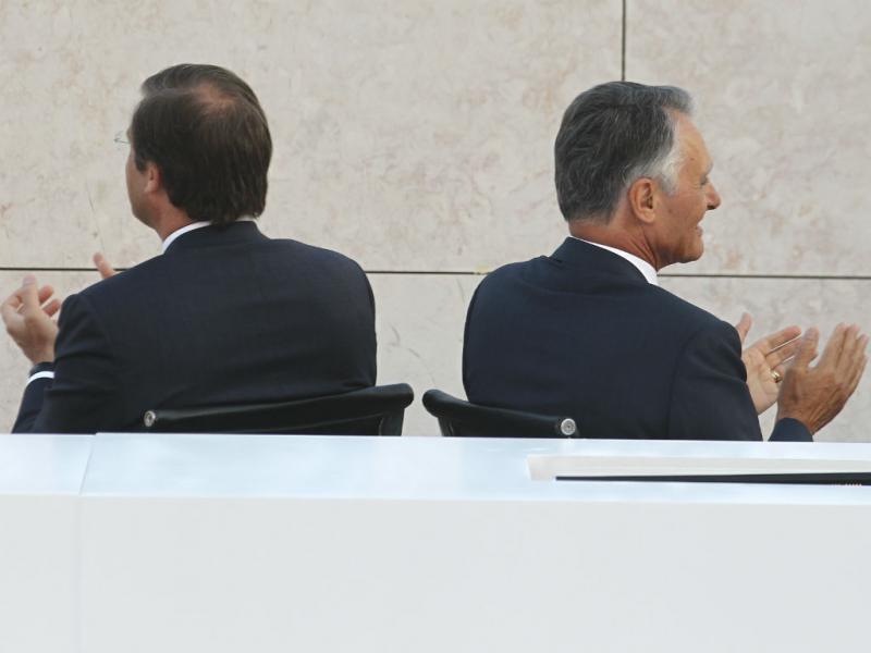 Passos Coelho e Cavaco Silva (Lusa/Pedro Nunes)