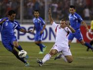 Qualificação Mundial 2014: Jordânia vs Uzbequistão (REUTERS)