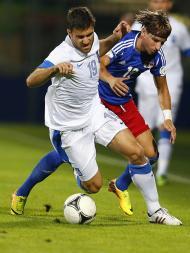 Qualificação Mundial 2014: Liechtenstein vs Grécia (REUTERS)