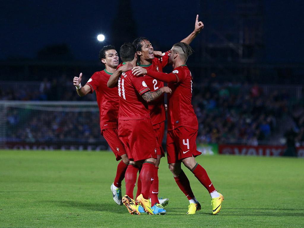 Qualificação Mundial 2014: Irlanda do Norte vs Portugal (LUSA)