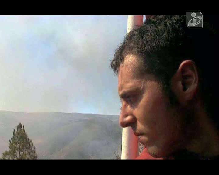 Dor em Miranda do Douro com morte de bombeiro