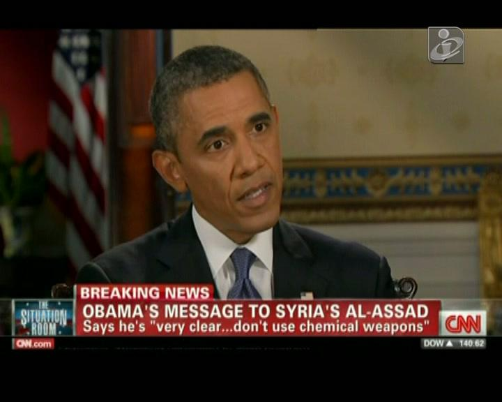 Presidente dos EUA mantém a pressão sobre a Assad