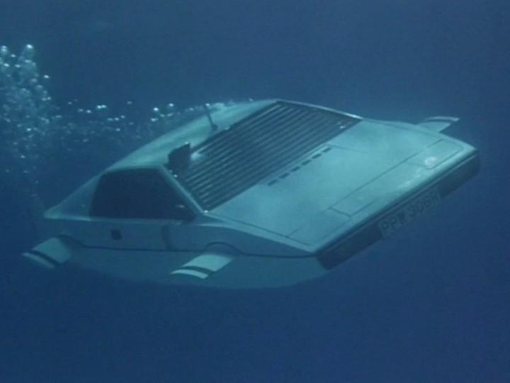 O Lotus Esprit subaquático de «007 - Agente Irresistível»