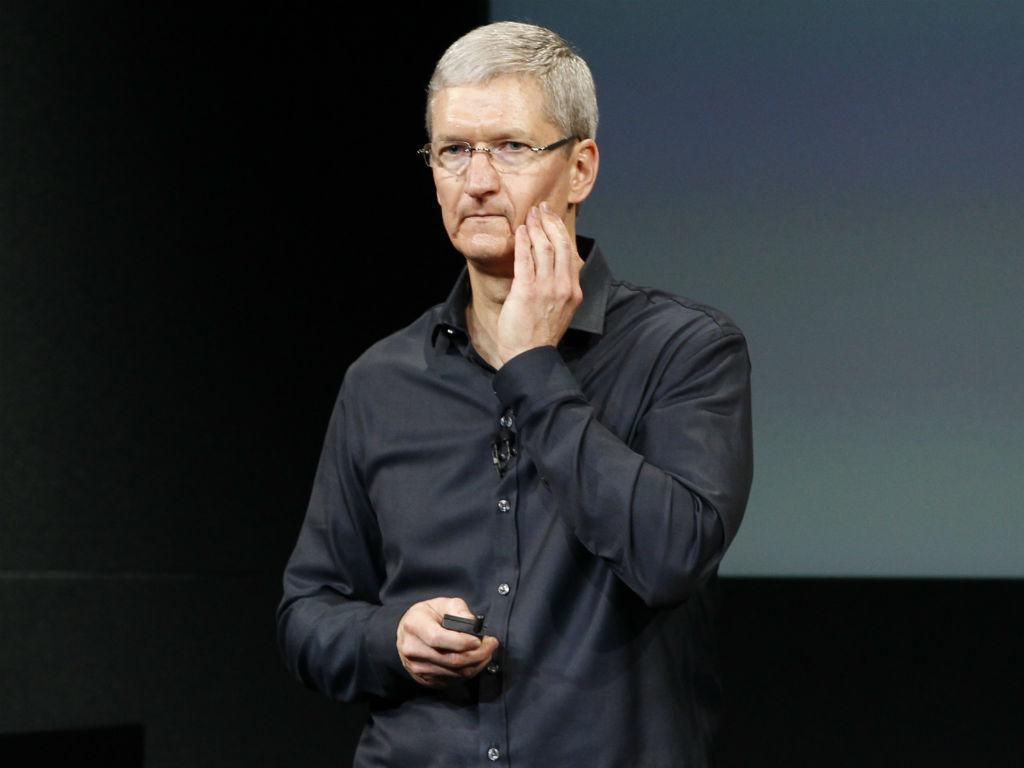 Tim Cook - Apple apresenta iPhone 5S [REUTERS]