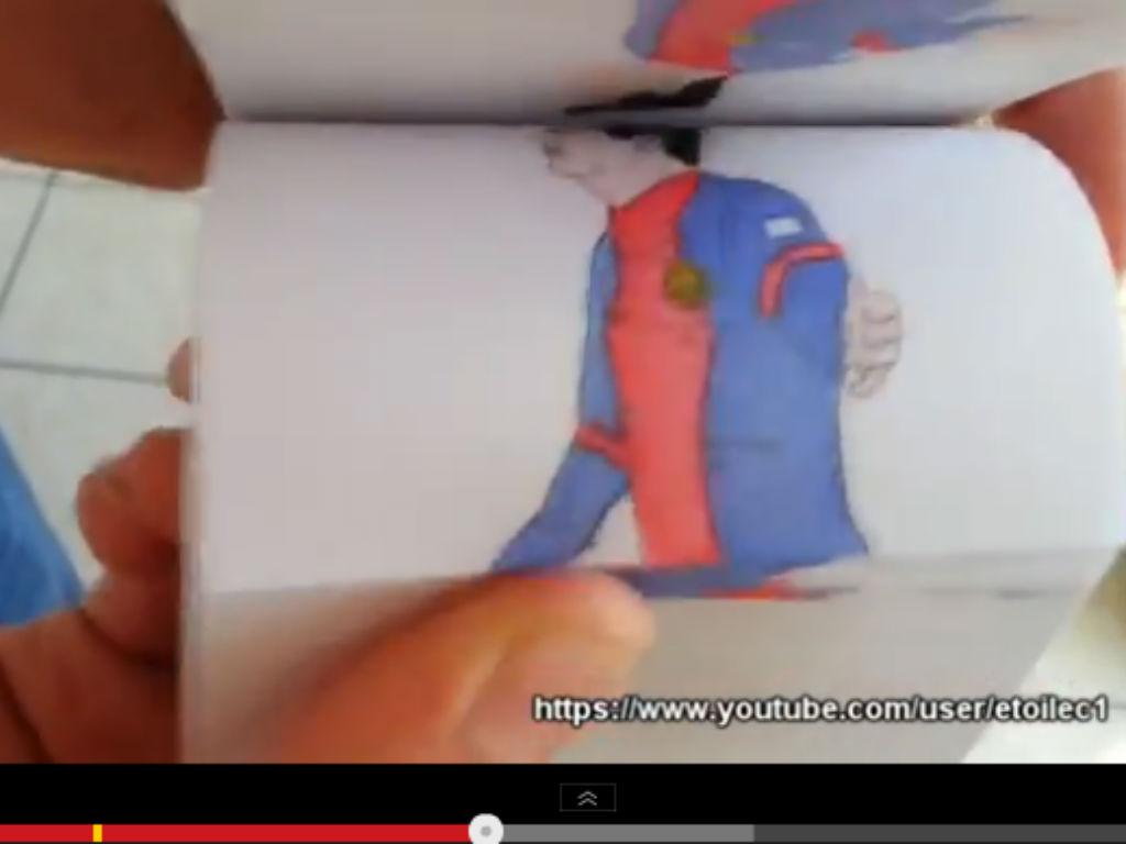 Flipbook de Messi