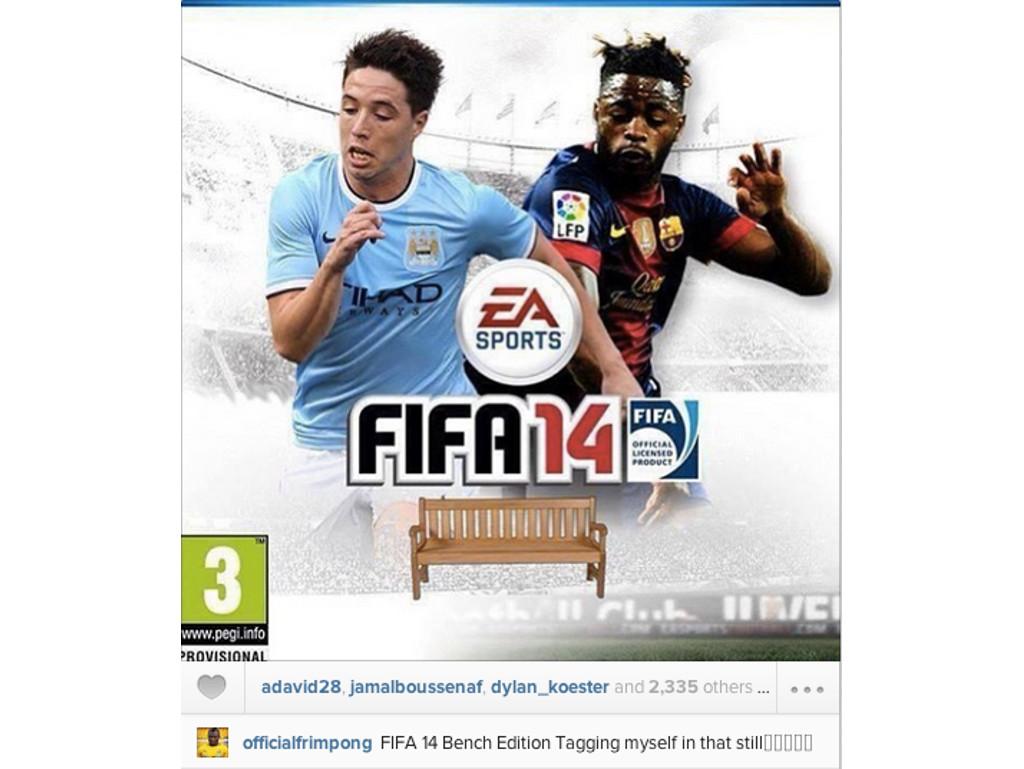 Fifa 2014 edição do banco