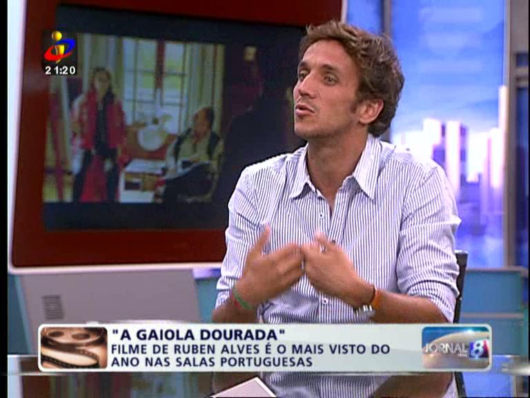 Jornal das 8: Entrevista a Ruben Alves