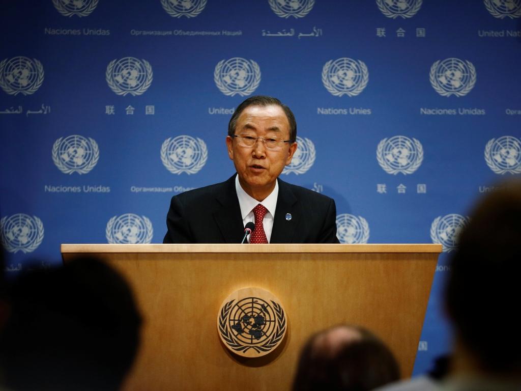 Ban Ki-moon, secretário-geral da ONU (REUTERS/Brendan McDermi)