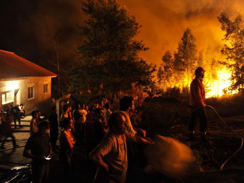 Incêndio de Outeiro, Viana do castelo (Lusa)